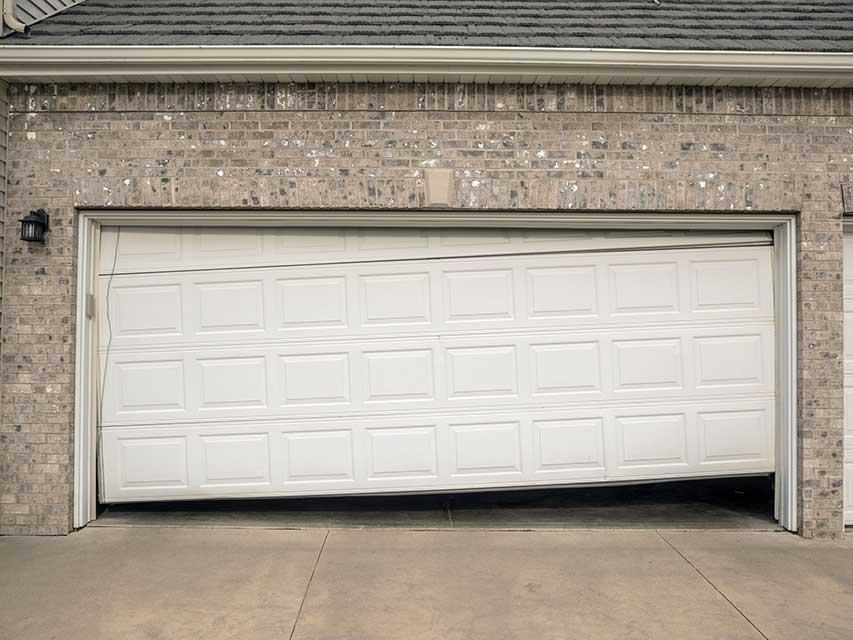 OffTrack Garage Door
