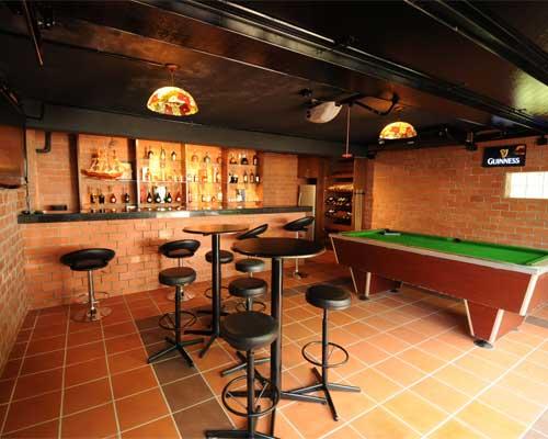 garage conversion bar