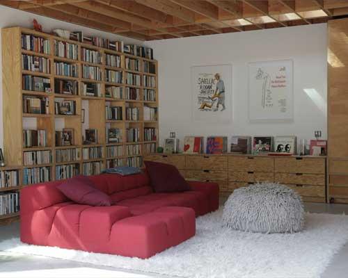 garage conversion library
