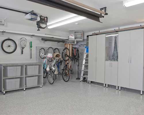 garage conversion storage room
